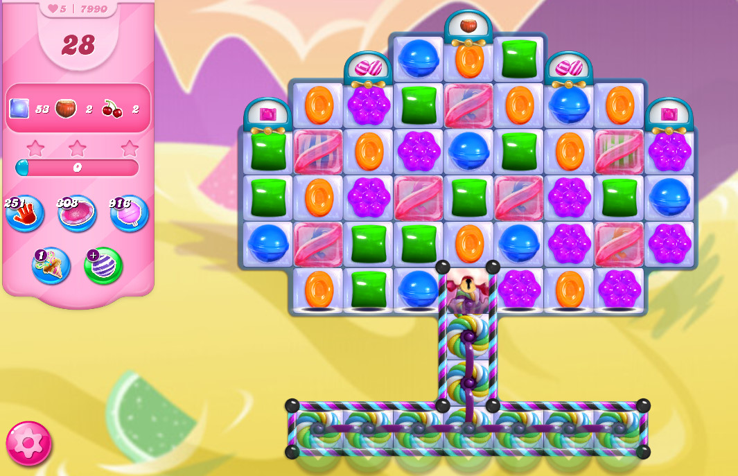 Candy Crush Saga level 7990