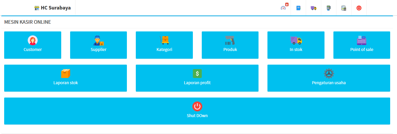 mesin kasir online multi outlet pos shop