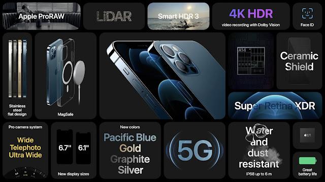 Des iPhone 12 Pro