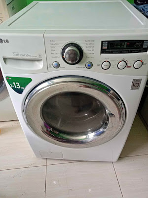 kode CL di mesin cuci LG, cara mengatasi kode CL di mesin cuci LG 1 tabung