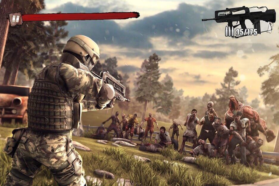 Zombie Frontier 3 v 2.36 apk mod DINHEIRO INFINITO