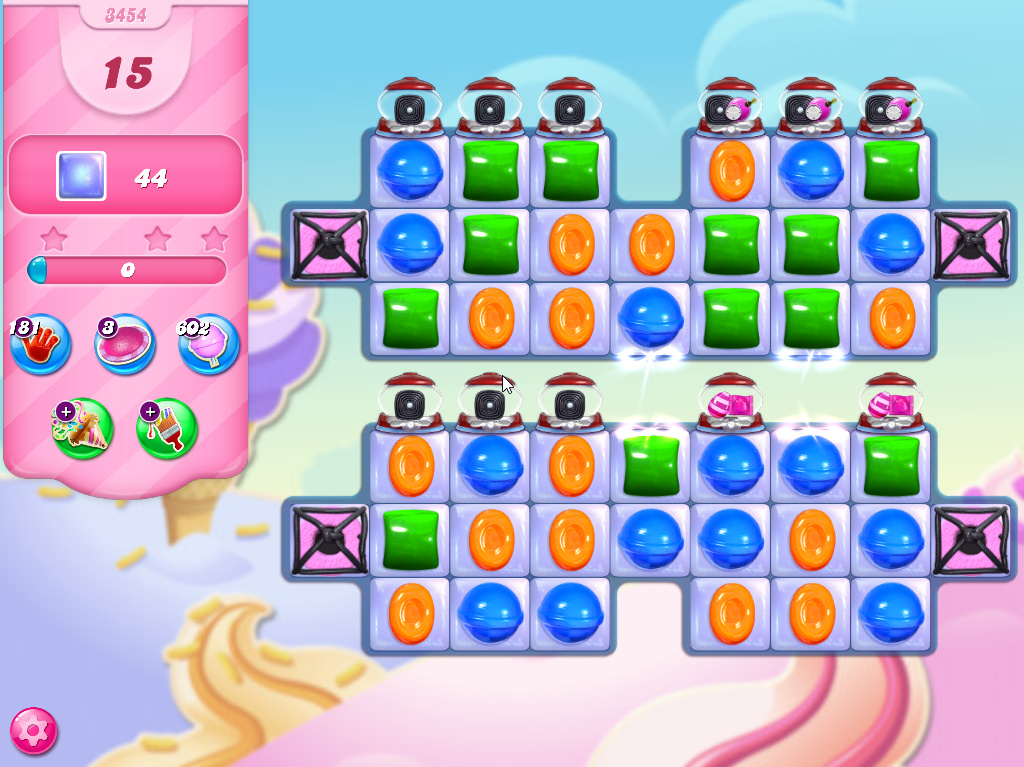 Candy Crush Saga level 3454