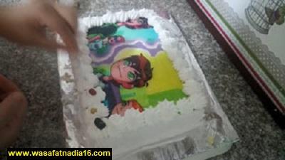 طريقة عمل كيكة عيد ميلاد للاطفال,قالب كيك عيد ميلاد,كيك عيد ميلاد