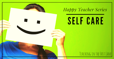 Teaching is tough and we often forget to take care of ourselves. Check out this list of 10 ways to take a little time out and put yourself first!