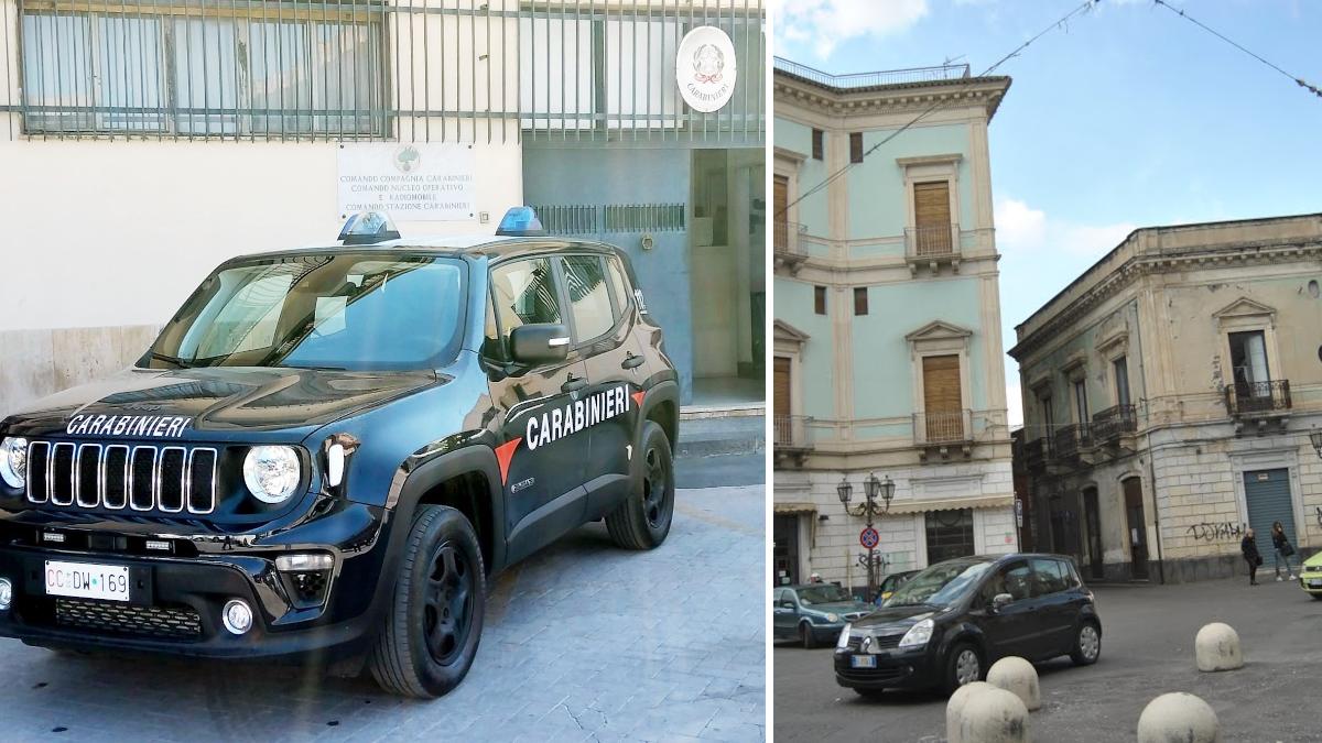 Paternò Carabinieri tentato suicidio
