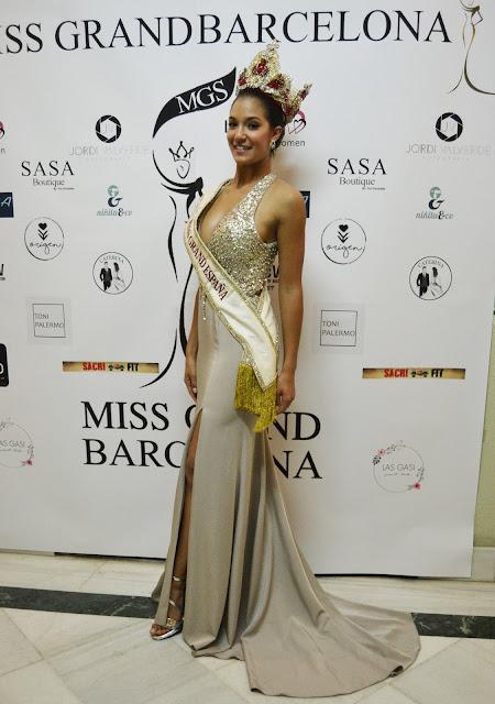 """Mariana Rico Miss Grand Spain 2017"""