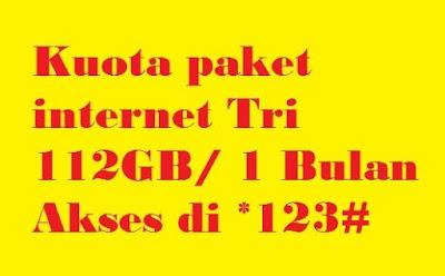 Setiap pengguna kartu prabayar apapun jenis kartu yang dipakai sudah pasti nya mengharapk Cara Mengaktifkan Paket Internet murah Tri Kuota 112GB Masa aktif 1 bulan