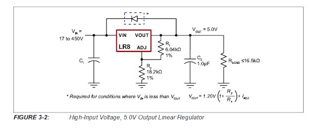 Transformerless 0-400V Power Supply