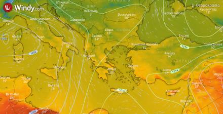 Λίγες τοπικές βροχές αύριο στα βόρεια ηπειρωτικά - Νέα άνοδος της θερμοκρασίας