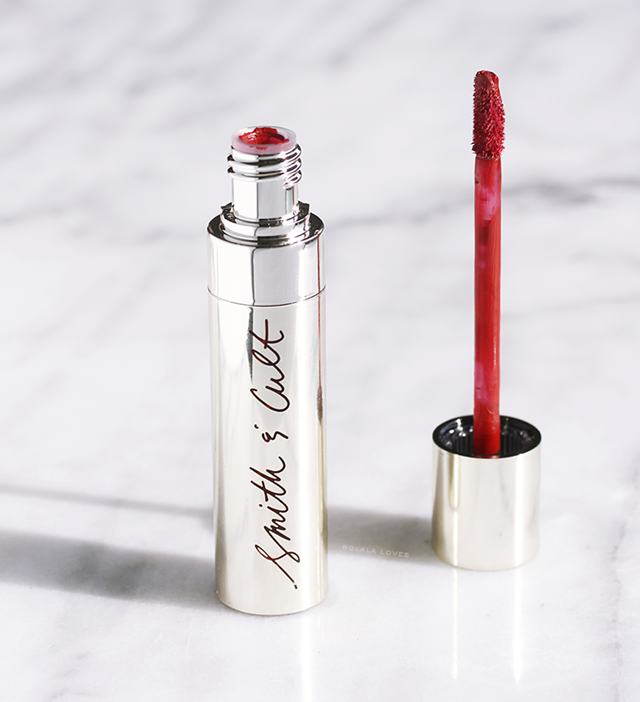 Smith & Cult Lip Stain, The Review by Byrdie Beauty Box, Byrdie Beauty Box. The Review by Byrdie, Byrdie Holiday Beauty Box,  Beauty Box