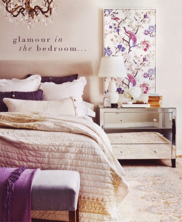 Home Interior Decorating Glamorous Bedroom Ideas