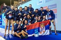 WATERPOLO - Liga Mundial masculina 2019: Serbia recupera el trono mundial en casa y alza su 12º título