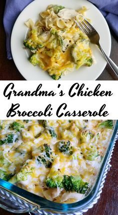 This chicken and broccoli casserole is a great way to get dinner on the table quickly.  It is a perfect way to use leftover chicken or turkey as well!