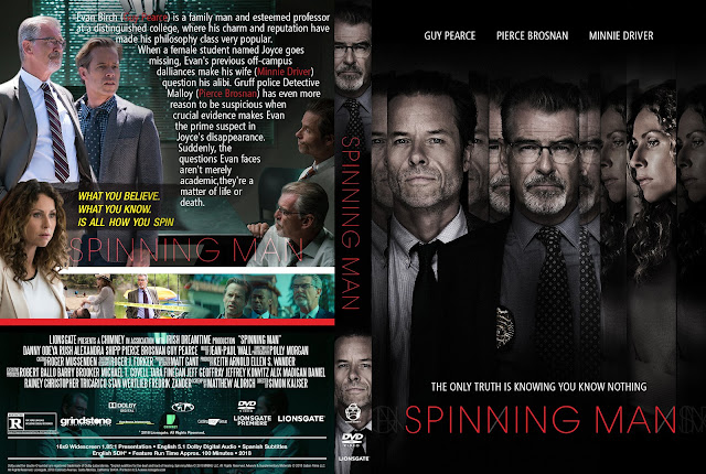 Spinning Man DVD Cover