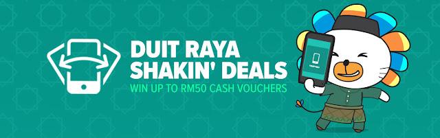 Riang Ria Raya Dengan Lazada Shakin' Deals