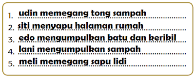 Tuliskan kalimat yang kamu susun pada kolom berikut www.simplenews.me