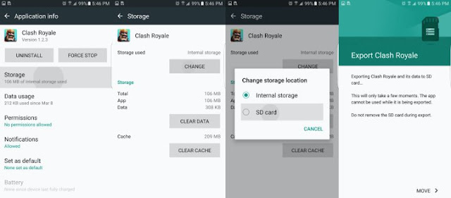 How To Move Galaxy S7 Apps To SD Card?