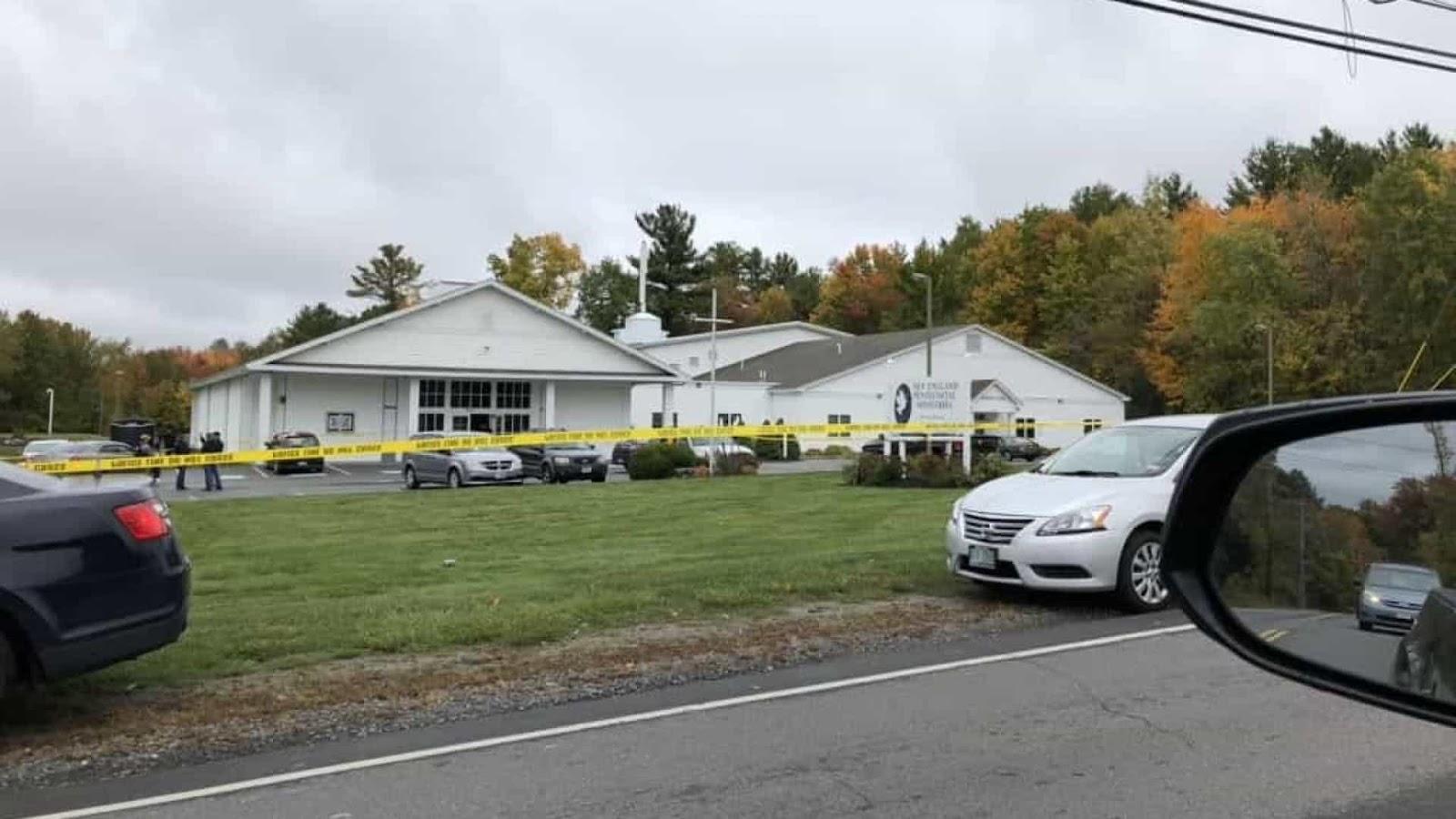 Um ferido após tiroteio em igreja em New Hampshire EUA