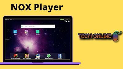 محاكي NOX Player لتشغيل ببجي موبايل