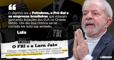 Lula, FBI, Lava Jato
