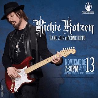 POZTER Concierto de RICHIE ROTZEN en Bogotá 2019