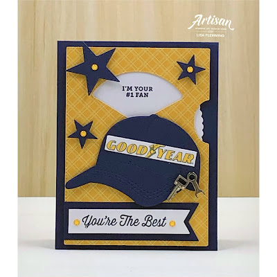 Fantastic Friday - Hats Off Father's Day Interactive Card
