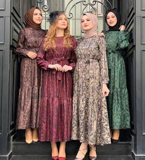 très belles tenues de hidjab *fashion 2021