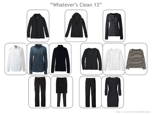 How to build a capsule wardrobe step by step with watever's clean 13