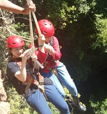 Vertical Caving Goa Jomblang