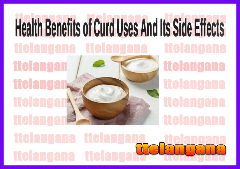 Health Benefits of Curd Uses And Its Side Effects