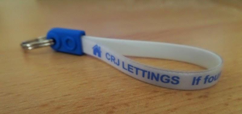 CRJ Lettings free keyring logo