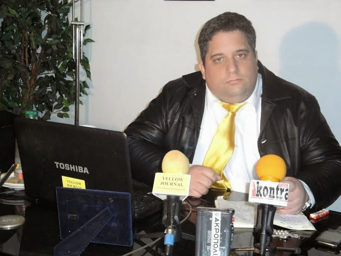 "THE YELLOW ""MAFIA"":  THE MR. TSIRIGOTIS GIANNIS (THE YEAR IN ATHENS 2011)"