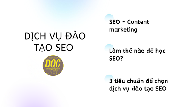 Đào tạo SEO - Marketing 2020