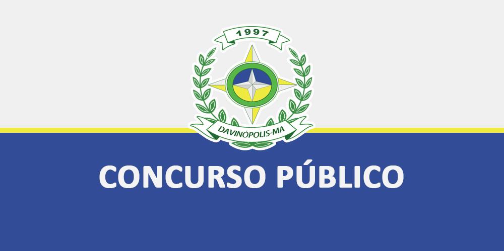 DAVINÓPOLIS: Prefeitura lança edital para concurso público