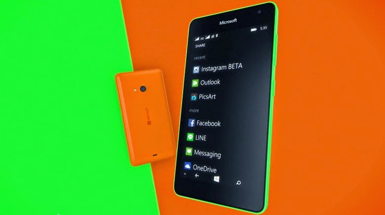 Come usare WhatsApp Web con Nokia Lumia 535 - Windows Phone