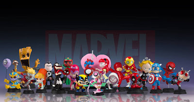 San Diego Comic-Con 2018 Exclusive Gwenpool Animated Marvel Mini Statue by Skottie Young & Gentle Giant