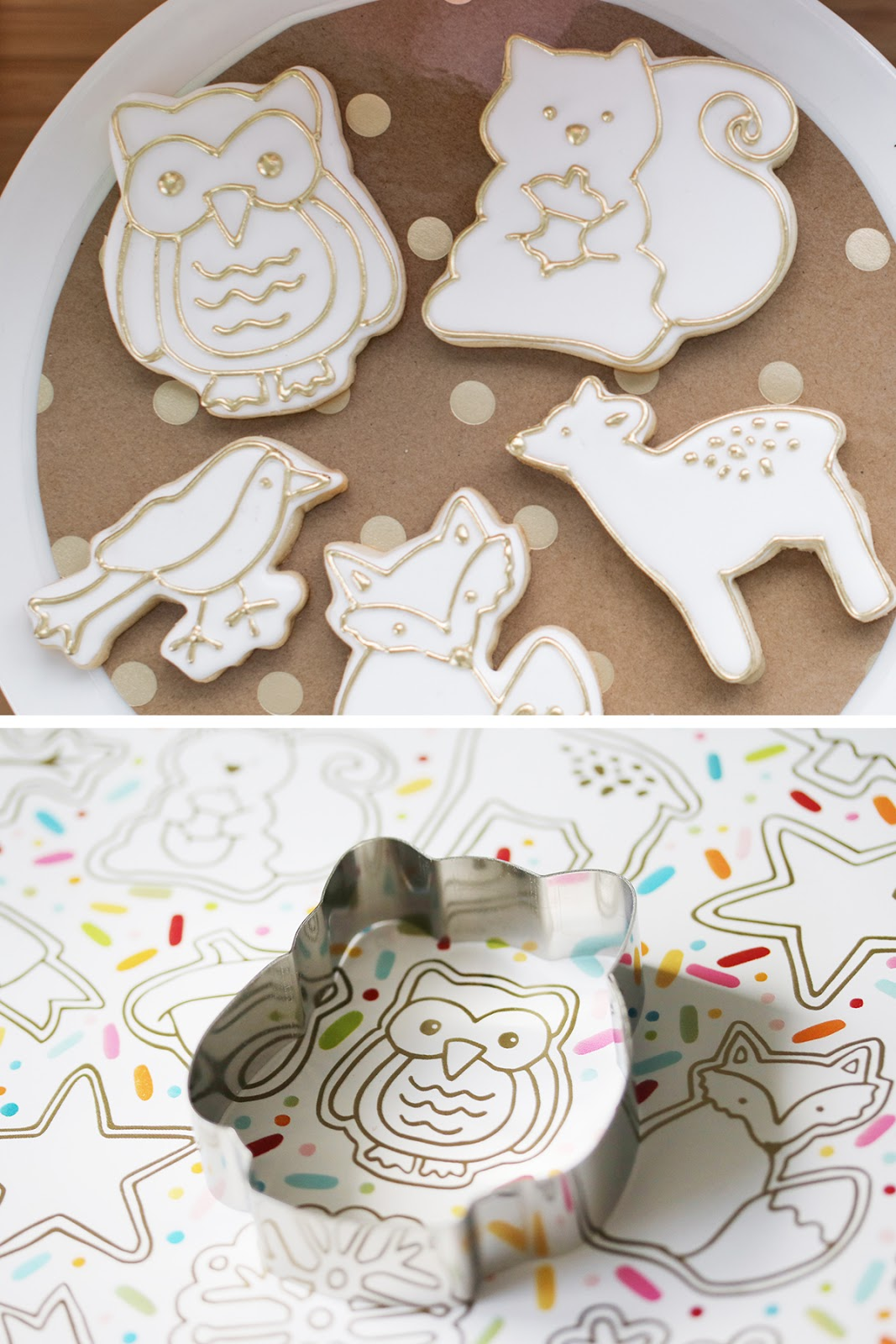 owl cookie by Emma's Sweets using a cookie cutter from How Sweet Is That