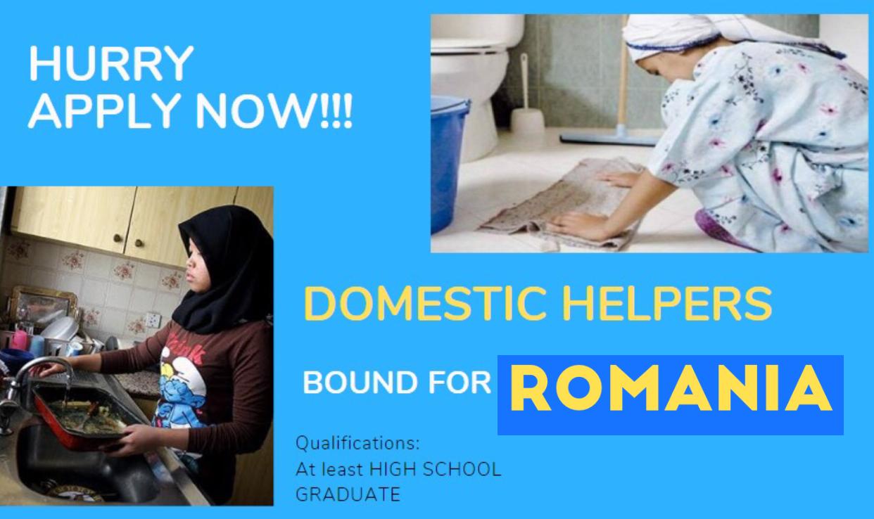 Romania Hiring 20 Domestic Helper Pinoy Refresher