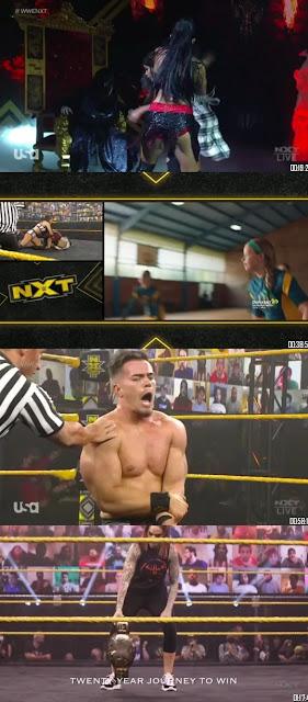 WWE NXT 10th Feb 2021 300MB WEBRip || MoviesBaba 1