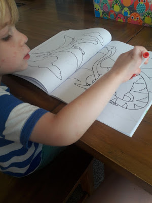 Chicken pox, colouring