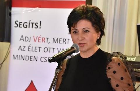A Magyar Vöröskereszt Hajdúszoboszlói Szervezete 15. alkalommal rendezett ünnepséget a véradóknak Hajdúszoboszlón