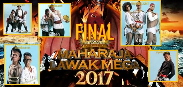 Live Streaming Maharaja Lawak Mega 2017 Final