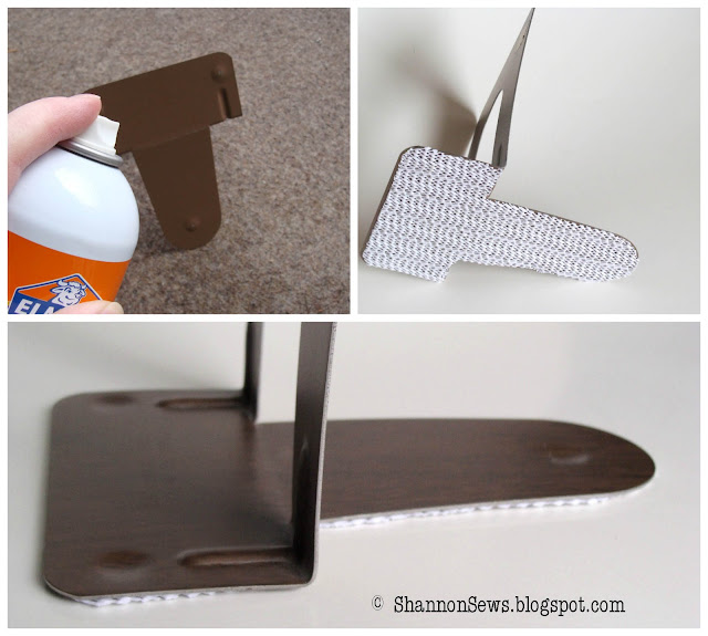 stop bookends from slipping with rubber shelf liner