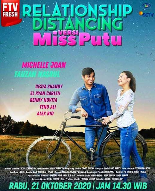 Nama Pemain FTV Relationship Distancing Versi Miss Putu SCTV Lengkap