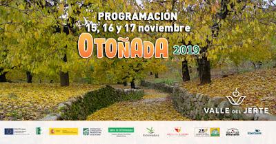 Este finde en el Valle del Jerte (15, 16 y 17 de noviembre 2019)