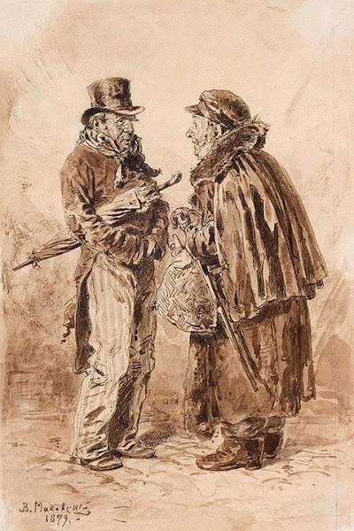 Маковский Владимир Егорович - Московские типы. 1879