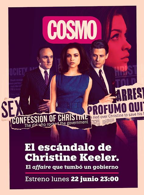 Cartel El escandalo de Christine Keeler