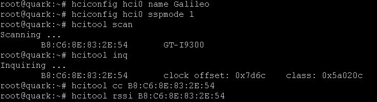 Intel Galileo Gen 2: How to enable Bluetooth in Yocto Linux
