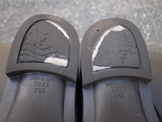 セメダイン シューズドクターNで靴底の盛盛補修6