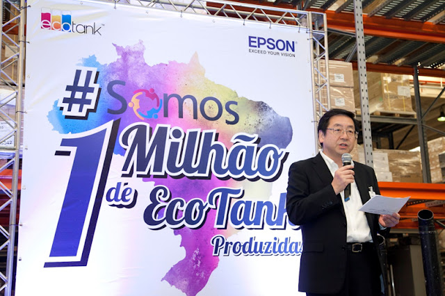 Epson celebra la produccion de un millon de impresoras Ecotank